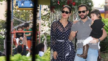 Christmas 2020: Throwback 2019 Pictures Of Mask Free Taimur Ali Khan Enjoying His Christmas-Themed Birthday Bash; Giant Wheel, Santa Claus Cake And More