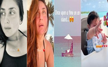 Inside Kareena Kapoor Khan's Island Adventure: Actress Flaunts Her Different Moods And Gives A Glimpse Of Saif, Taimur And Jehangir Ali Khan