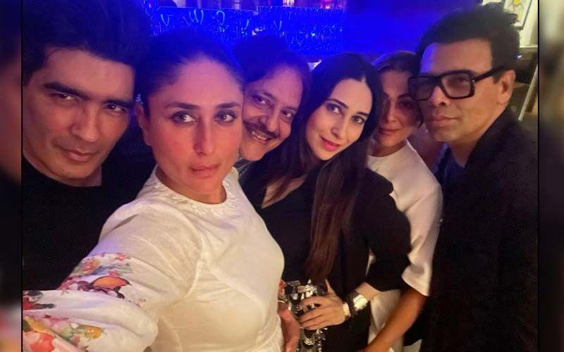 Kareena Kapoor Khan Parties The Night Away With Sister Karisma Kapoor And BFFs Amrita Arora, Karan Johar And Manish Malhotra-See PHOTOS