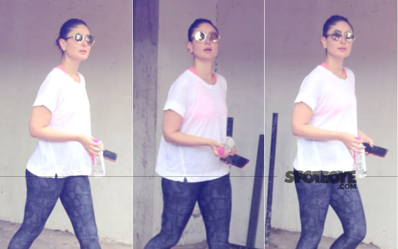 Kareena Kapoor Exits The Gym After An Intense Workout