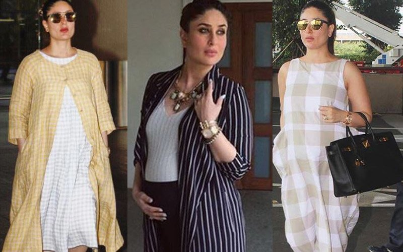 Kareena Kapoor Khan Is All About 'Checks' And 'Stripes'!