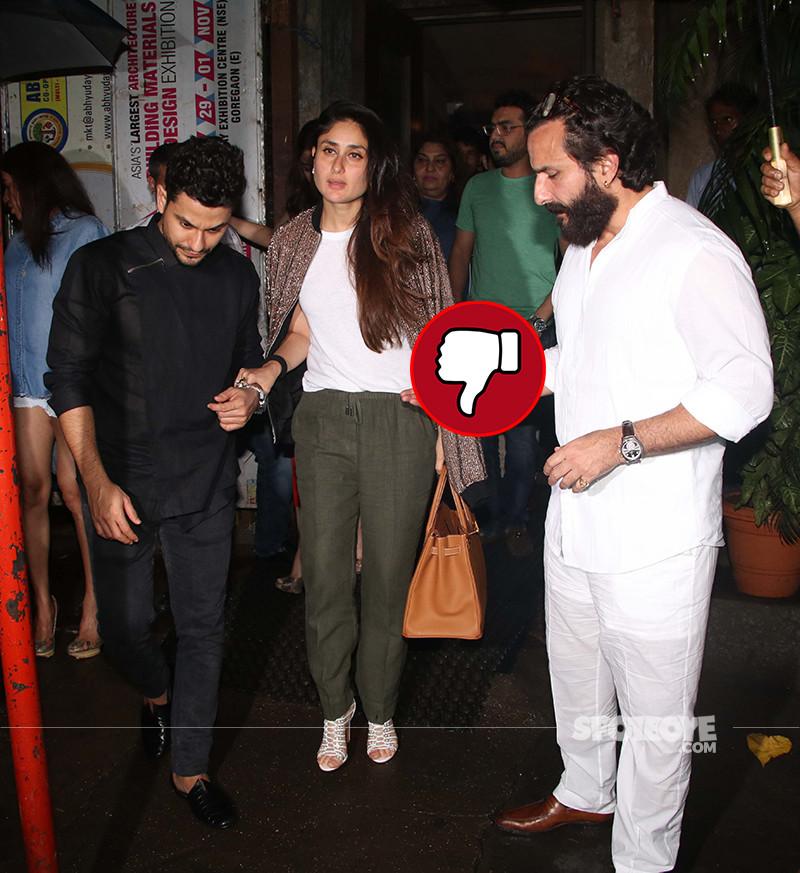 Kareena Kapoor Snapped At Bandra