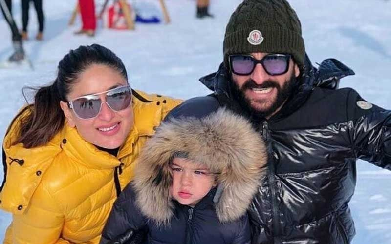 Saif Asks Kareena Kapoor Khan For Attention; Actress Says, 'Take Me Out For A Romantic Date Without Taimur'