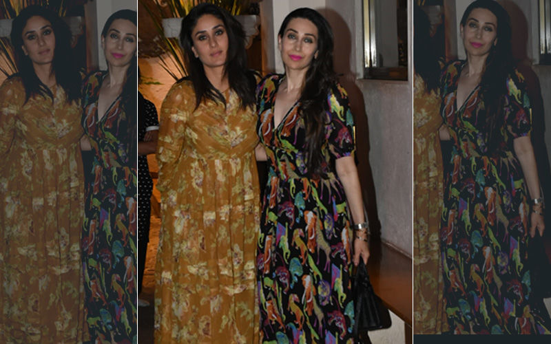 Kareena Kapoor Khan Looks Fresh As A Daisy In Easy Breezy Florals; Actress Spotted At Anil Kapoor's House
