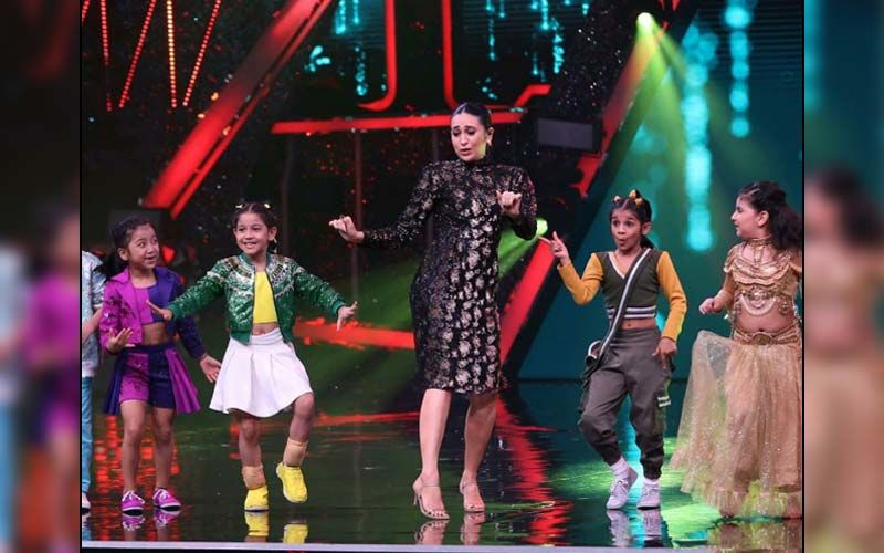 Super Dancer 4: Karisma Kapoor Oozes Glamour As She Stuns In A Bodycon Dress; Actress Enjoys The Kids' Performances -See PICS