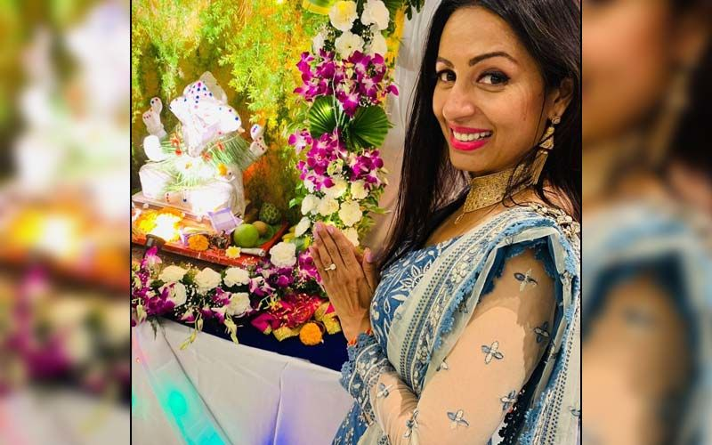 Kashmera Shah Opens Up About Welcoming Ganpati Bappa In Her New Home; 'Every Year I Used To Ask Bappa To Give Us The House Of Our Dreams And He Fulfilled Our Wish'
