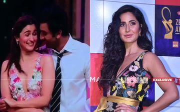 Zee Cine Awards 2019: आलिया भट्ट और रणबीर ने किया स्टेज पर रोमांस, वहां से निकल पड़ी कैटरीना कैफ