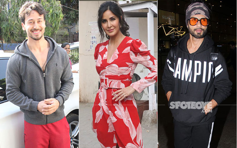 Celeb Spotting: Katrina Kaif's Bharat Promotions Look Is On Point, While Shahid Kapoor Slays It In A Hoodie And Beanie