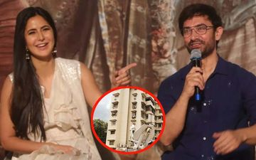 If You See Katrina Kaif Singing 'Dil Cheez Kya Hai' Below Salman's Galaxy Apts, Blame It On Aamir Khan!