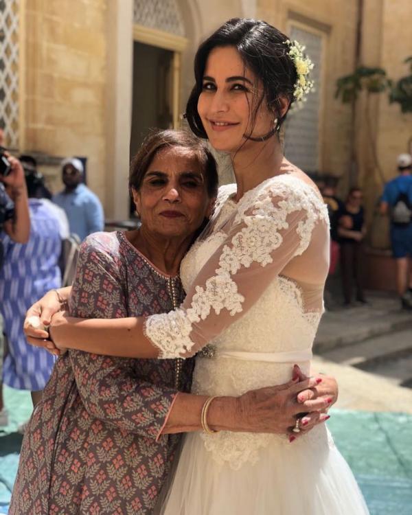 Katrina Kaif Hugs Salman Khan Mother