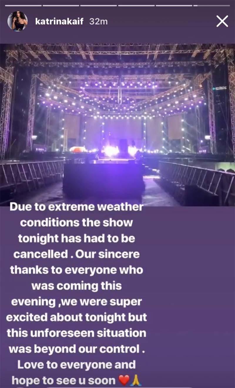 Katrina Kaif Instagram Story