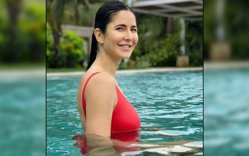 Katrina Kaif Takes A Dip In The Pool And Thanks Everyone For The Warm Birthday Wishes- SEE PIC