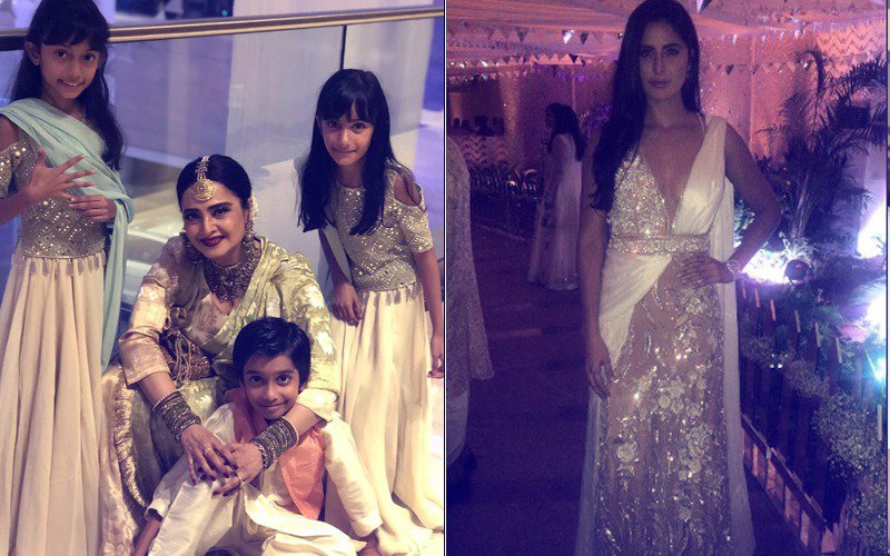 Sonam Kapoor's Mehendi: Katrina Kaif & Rekha Add Glamour To The Night