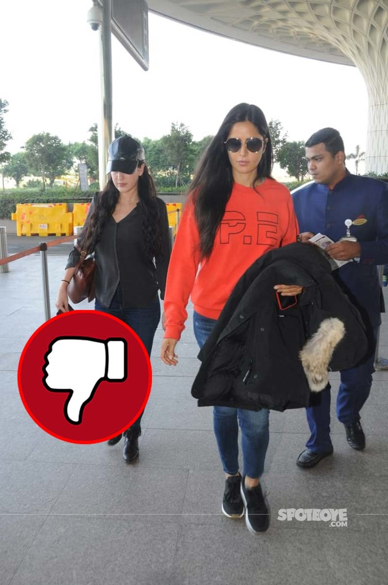 Katrina Spotted At The Airport