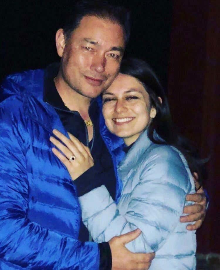 Kelly Dorjie With Maya