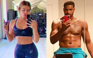 Khloe Kardashian Shares An 'Abs'olutely Fierce And Toned Pre Quarantine Midriff; Ex-Tristan Thompson Posts A Thirsty Comment