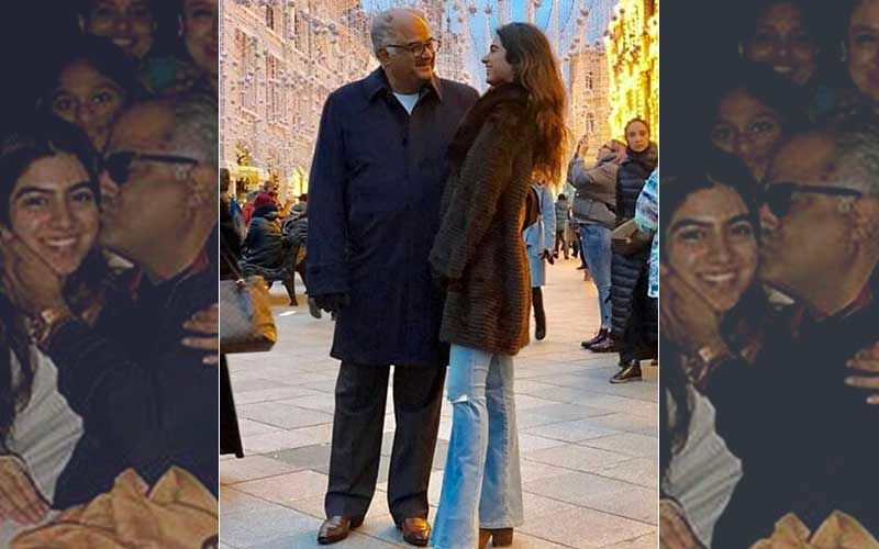 "Daddy Cool Boney Kapoor Is ""Open"" To Khushi Having A Boyfriend"