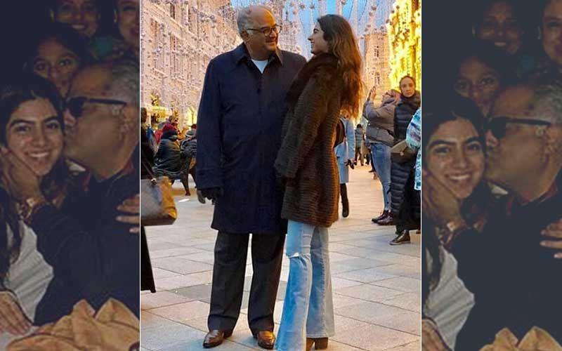 "Daddy Cool Boney Kapoor Is ""Open"" To Khushi Having A Boyfriend"