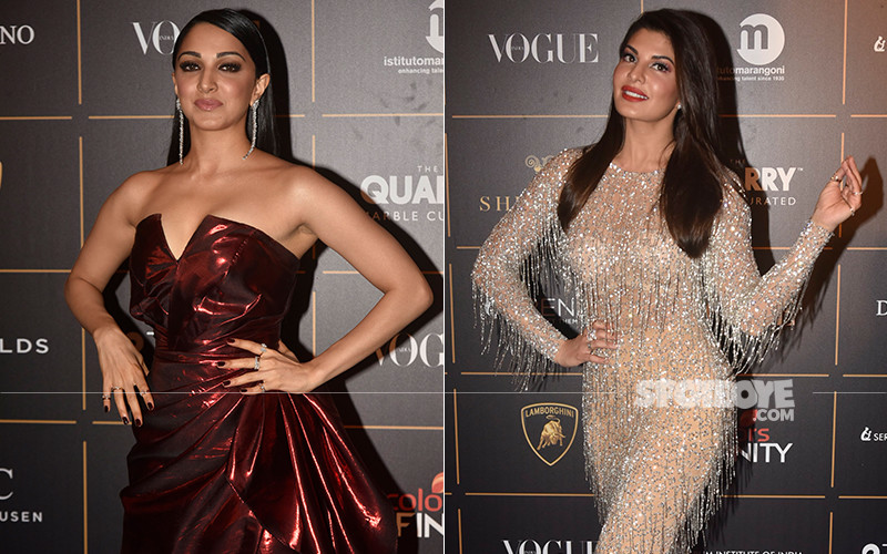 Kiara Advani And Jacqueline Fernandez At Vogue Women Of The Year Award Function