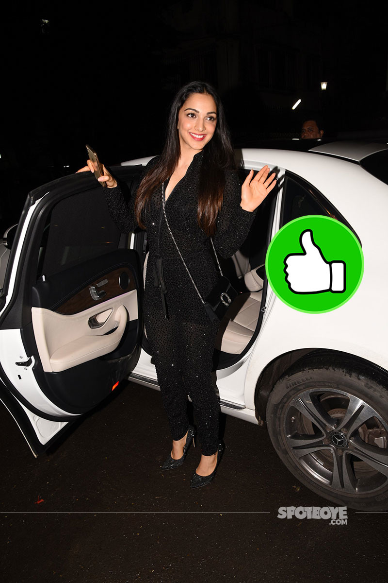 Kiara Advani Spotted At Kanika Kapoors Birthday Bash