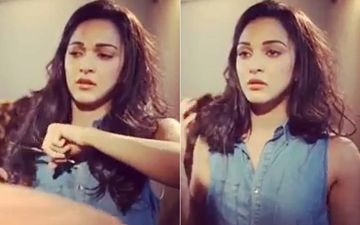 Irritated Kiara Advani Chops Off Her Hair- Watch Video