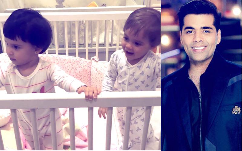 Watch: Karan Johar's Twins Yash & Roohi Just Had A 'Screaming Match'