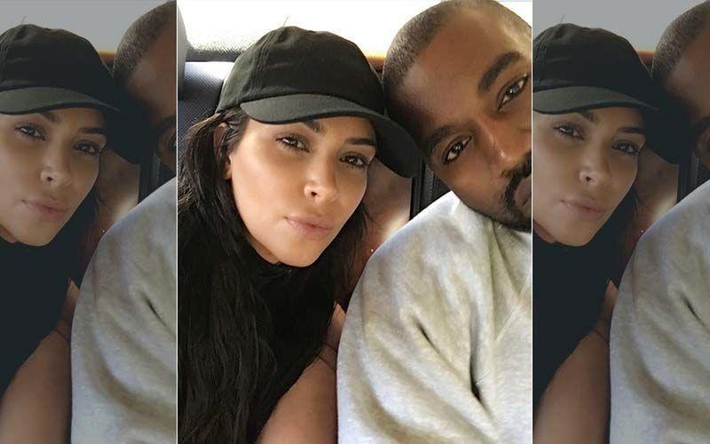 Kim Kardashian Flaunts Estranged Husband Kanye West's Yeezy Footwear Amidst Divorce Saga; Couple Is Still On Good Terms It Seems