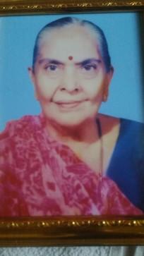 Kirti Vyas Grandmother