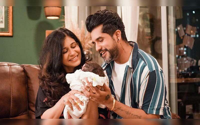Kishwer Merchantt And Suyyash Rai Reveal Their Newly Born Son Nirvair Rai's Face In Adorable Video-WATCH
