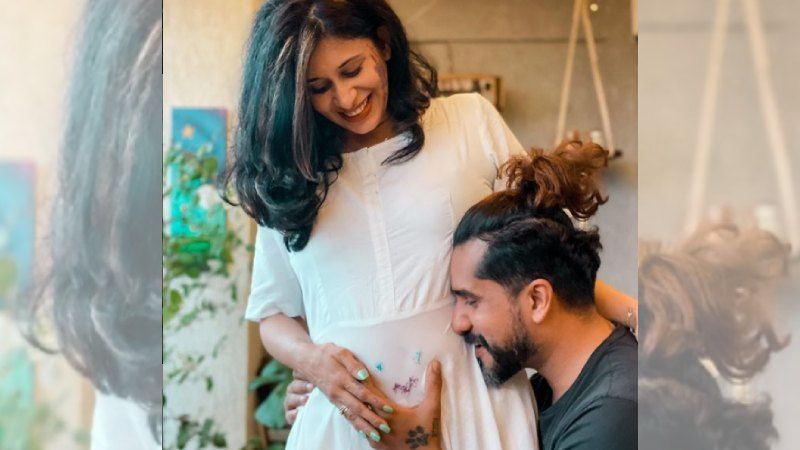 Mom-To-Be Kishwer Merchant Shares Five Pregnancy Clothing Hacks; Raiding Husband Suyyash Rai's Wardrobe Is The Best Of All - WATCH