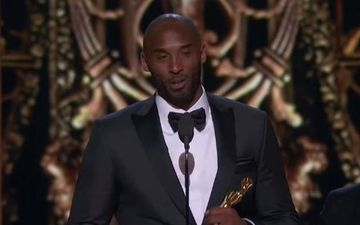 Kobe Bryant Mentioned Daughters In His Speech As He Picked An Oscar For Dear Basketball In 2018- WATCH VIDEO
