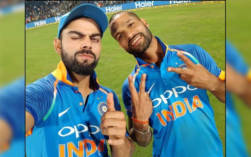 Virat Kohli Playing Garba With Shikhar Dhawan On The Cricket Ground In This Video Will Leave You In Splits - Have You Seen It Yet?