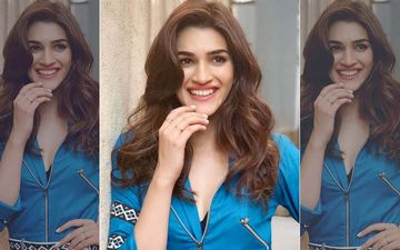 Kriti Sanon's OOTD Is A Confusing Win!