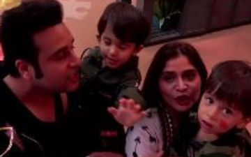 Bigg Boss 13: Not Just Krushna Abhishek, His Twins Have Also Entered The House To Meet Bua Arti Singh - Video