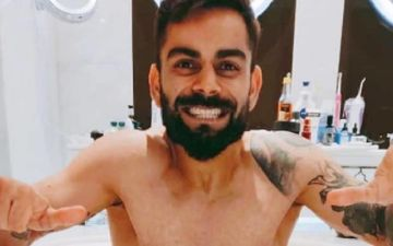 IPL 2020: Virat Kohli Enjoys A Relaxing Time In The Bathtub After A Tiring Practice Session; Caution: PIC Is Too Hot To Handle