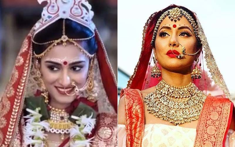 Hina Khan Or Erica Fernandes-Which Bengali Bride Are You Rooting For?
