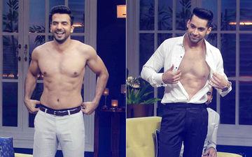 Kundali Bhagya's Rishabh & Zindagi Ki Mehak's Shaurya Go Shirtless!