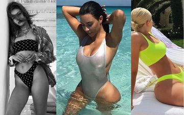 HOLLYWOOD'S HOT METER: Jennifer Lopez, Kylie Jenner, Gigi Hadid, Kim Kardashian, Miley Cyrus; Divas Whose Bikini Game Is Killer