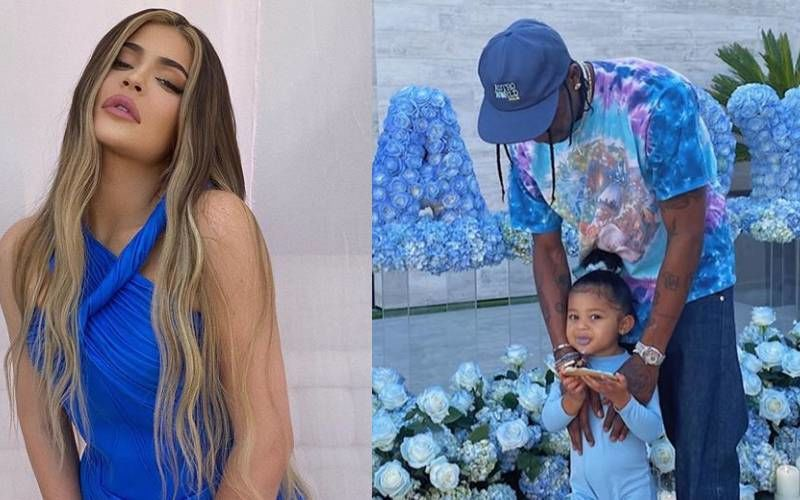 Kylie Jenner Takes Us Inside EX Travis Scott's Father Day Celebrations With Their Daughter Stormi; Cake, Balloons And Lots Of Candids - We Like
