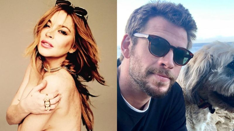 Lindsay Lohan DENIES Flirting With Liam Hemsworth On Insta; Claims People Took Her Comments 'The Wrong Way'