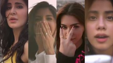 Angrezi Medium: Katrina Kaif, Anushka Sharma, Janhvi Kapoor, Kriti Sanon Come Together To 'Share Love' – VIDEO