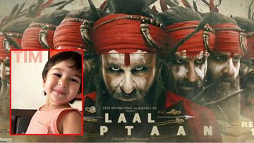 Saif Ali Khan Reveals Taimur Watches Laal Kaptaan Trailer Twice A Day And Calls It 'Maara-Maari'