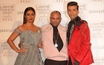Lakme Fashion Week 2019, Day 1: Karan Johar, Tabu Turn Muse For Designer Gaurav Gupta