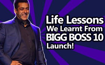 VIDEO: Life Lessons We Learnt From Bigg Boss 10 Launch!