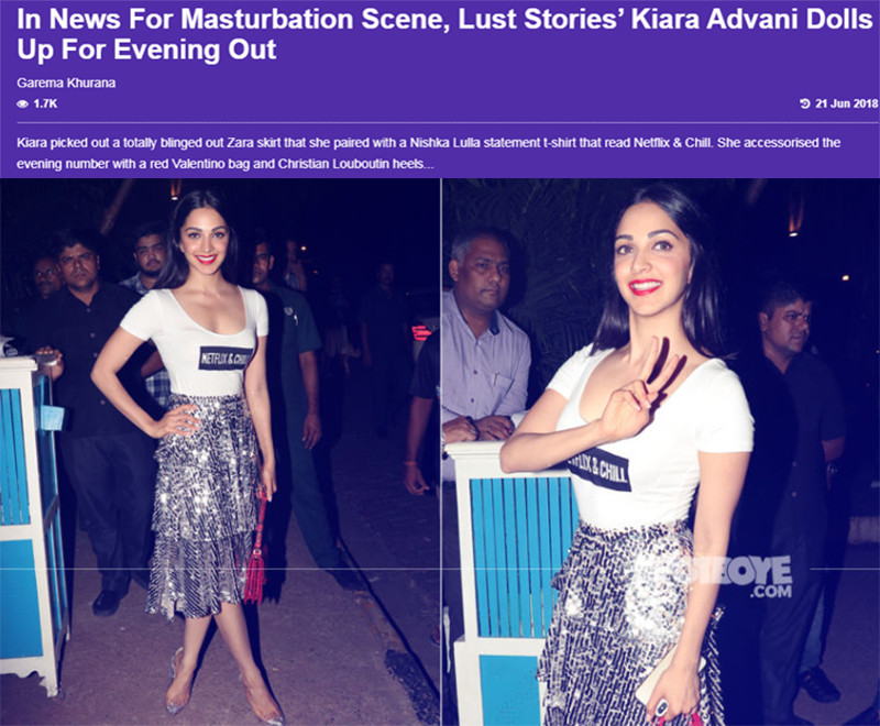 Lust Stories Kiara Advani