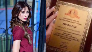 Bigg Boss 13: Mahira Sharma DENIES Forging Dada Saheb Awards Certificate; Officials Disapprove Her Claims, Insist On An APOLOGY