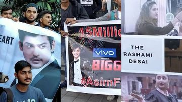 Bigg Boss 13 MALL TASK: Madness At Oberoi Mall; Fans Shout Slogans, Await Asim Riaz, Rashami Desai, Sidharth Shukla - PICS AND VIDEOS
