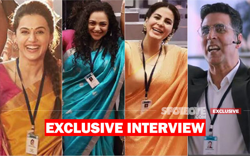 Mission Mangal's Scientists Akshay Kumar, Taapsee Pannu, Kirti Kulhari, Nithya Menen High On The Film: EXCLUSIVE INTERVIEW
