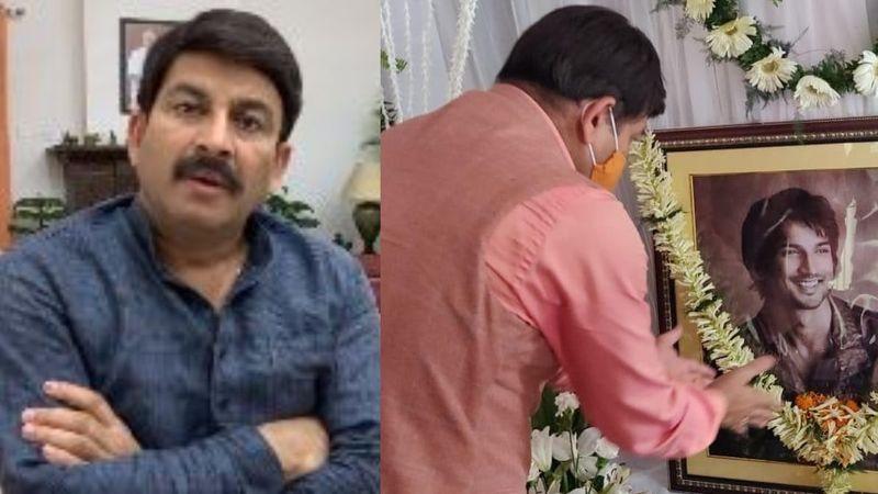Sushant Singh Rajput Demise: Manoj Tiwari Attends Late Actor's Prayer Meet In Patna; Demands CBI Take Charge Of His Case