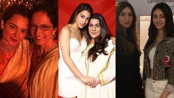 Mother's Day 2020: Kangana Ranaut, Ananya Panday Pen Heartwarming Wishes; Sara Ali Khan Thanks Her 'Maa Ki Maa'